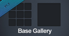 redrex Base Gallery for Lightroom