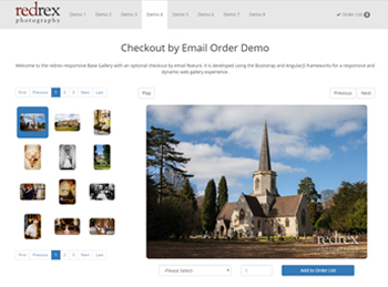 Checkout by Email Order Demo
